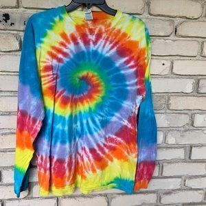 Tye Dyed L/S T-Shirt.
